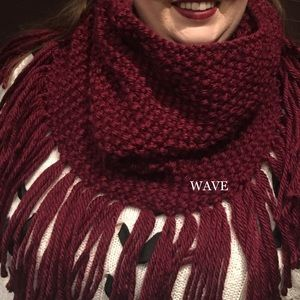 Custom knit cowl/snood/ infinity scarf